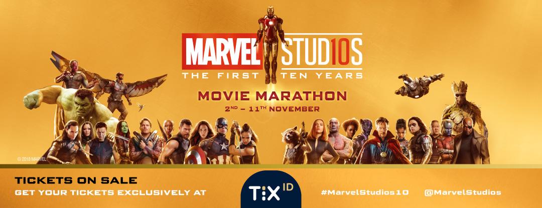 Marvel Studios: The First Ten Years Movie Marathon